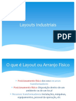 Layout Arranjo Fisico