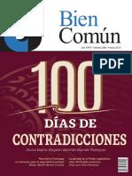 Revista Bien Común No. 288 - 100 Días de Contradicciones