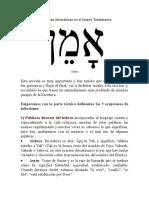 Hebraísmos y figuras idiomáticas en el Nuevo Testamento.docx