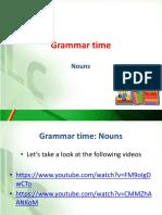 Grammar Time Nouns