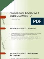 Analisisde Liquidez y Endeudamiento