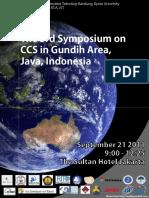 3rd Symposium 16092011