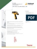 Thermo Scientific Niton Xl2 980 Goldd Xrf Analyser