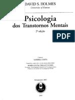 HOLMES, Psicologia dos Transtornos Mentais.pdf
