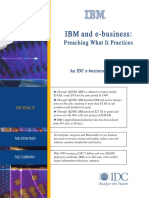 IBM e-business model