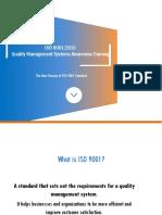 ISO 9001 2015 Transition Presentation