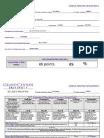 clinical practice evaluation 1 tina jackson part 1