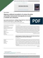 Quiste Aracnoideo Temporal - Artículo- Revisión - Bibliográfica