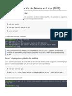 Instalación de Jenkins en Linux