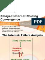 BGP Convergence