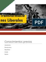 Transformaciones liberales