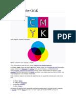 Modelo de Color CMYK