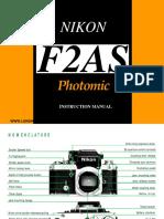 Nikon F2AS Dp12 Manual