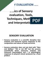 Aruna Ram Kumar - Sensory Methods Ppt