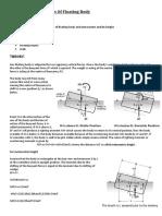 Fliud Mechanics Exxperiment 3