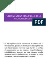 Clase SXXI Fundamnetos y Desarrollo de La Neuropsicología