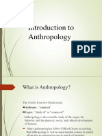 Anthropology (Hsa)