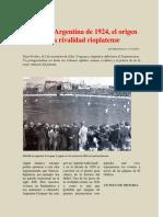 Rival Argentina vs  Uruguay