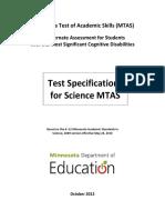 003175 MTAS Science TestSpecs 2009standards Oct2012 FINAL ACC