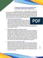 Dictamen Análisis Jurídico Del Decreto de Interpretación Auténtica 05-04-19