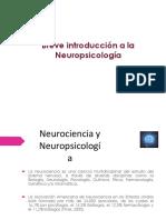 Clase SXXI Introduccion a La Neuropsicologia