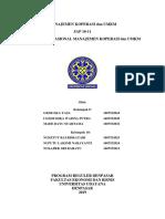 Manajemen Koperasi Dan Umkm 10-11