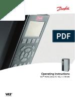 VLT HVAC Drive FC 102 Operating Instructions