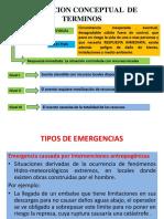 Definiciones Operacionales Emergencia y Desastres