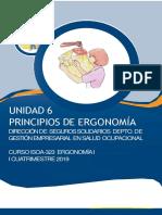 PRINCIPIOS ERGONÓMICOS