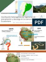 Distribución heterogénea de regímenes de precipitación y descarga.pptx