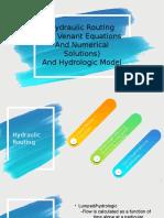 Hydraulic Routing