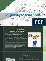 PRUEBAS PSICOMETRICAS 2019