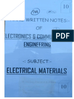 EC 10 Electrical Material