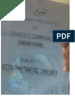EC 7 Electromagnatic Theory