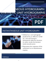 Instantaneous Hydrograph