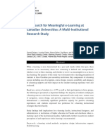 1713-15899-1-PB - The Search for Meaningful E-Learning