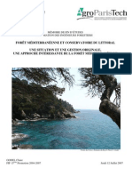 Memoire Ingenieur  gestion forestiere en mediterranée