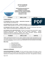 041119 Clearlake City Council agenda packet