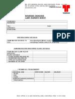 ROC Data Collection Sheet