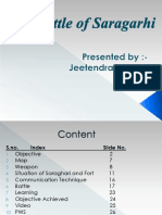 The Battle of Saragarhi