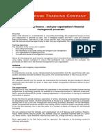Understanding Finance – Processes