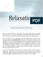 Relaxation Skills for Anxiety