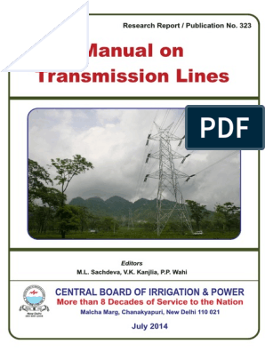 323 cbip mannual on transmission line.pdf | Electric Power ... Hoist Wiring Diagram Control Line Or Select From Name Const Char Name A X on
