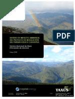 Evaluacion impacto parque eolico