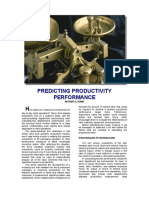 Predicting Productivity Performance 0108