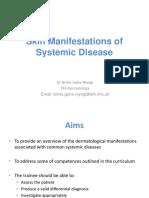 Dermatology Skin in Systemic Disease