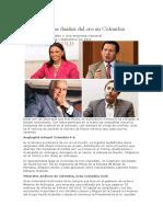 Las 5 Empresas Dueñas Del Oro en Colombia