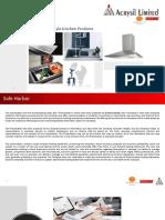 Acrysil Investor Presentation 31102018