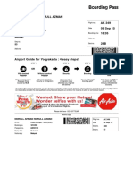 Air Asia ticket lama