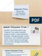 Pelayanan Prima